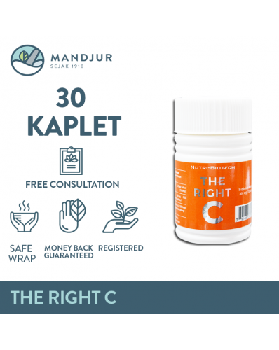 The Right C 300 Mg Isi 30 Kaplet