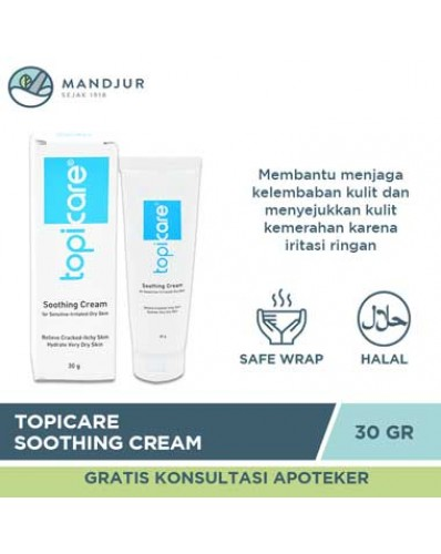 Topicare Soothing Cream 30 Gr