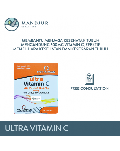 Vitamin C 500mg Vitabiotics Ultra
