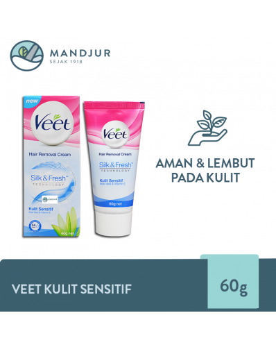 Veet Hair Removal Cream Sensitive 60 gr
