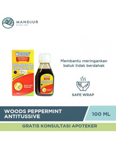 Woods Peppermint Antitussive
