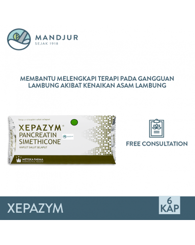 Xepazym Strip 6 Tablet